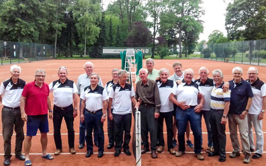 TC Senioren siegen im Freundschaftsvergleich in Bad Lauterberg