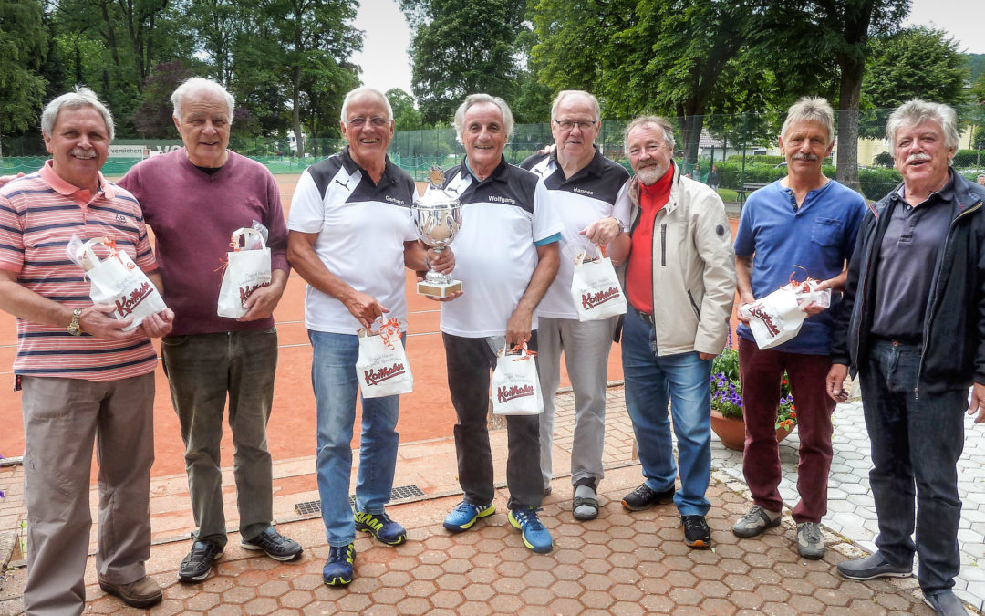 Pokalerfolg des TC-Doppels Wagner/Bertram in Bad Lauterberg