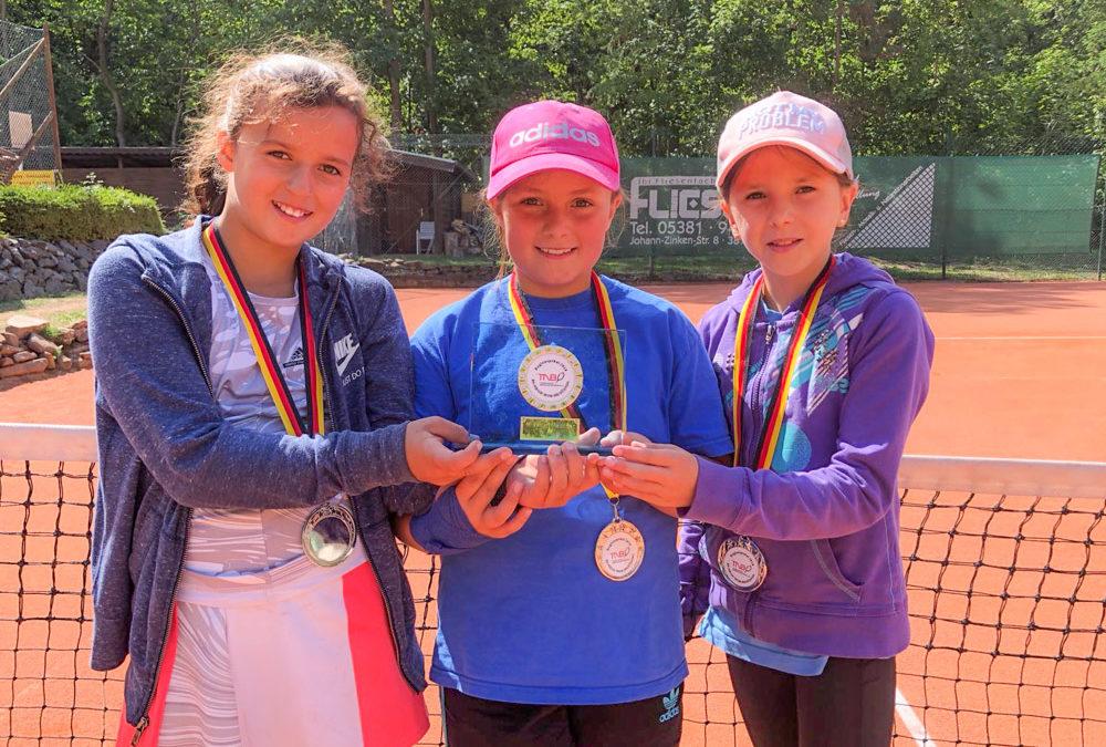 TC Midcourt-Mädchen sind Vize-Pokalsieger