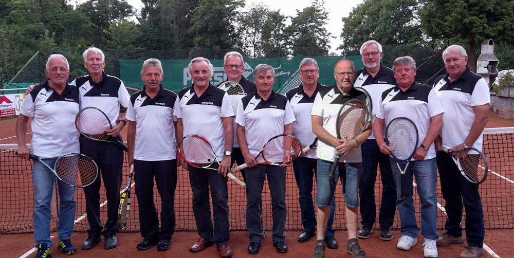 TC – Senioren verteidigen Titel in der Vereins-Mannschaftsmeisterschaft