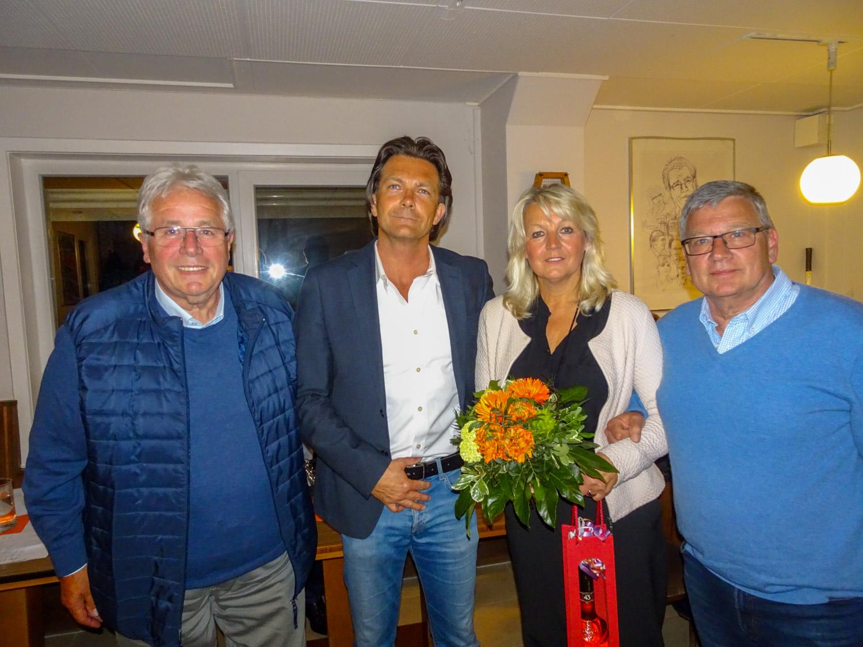 Otto Jacobs, Roland Steinbach, Kerstin Engel und Andreas Kirsche