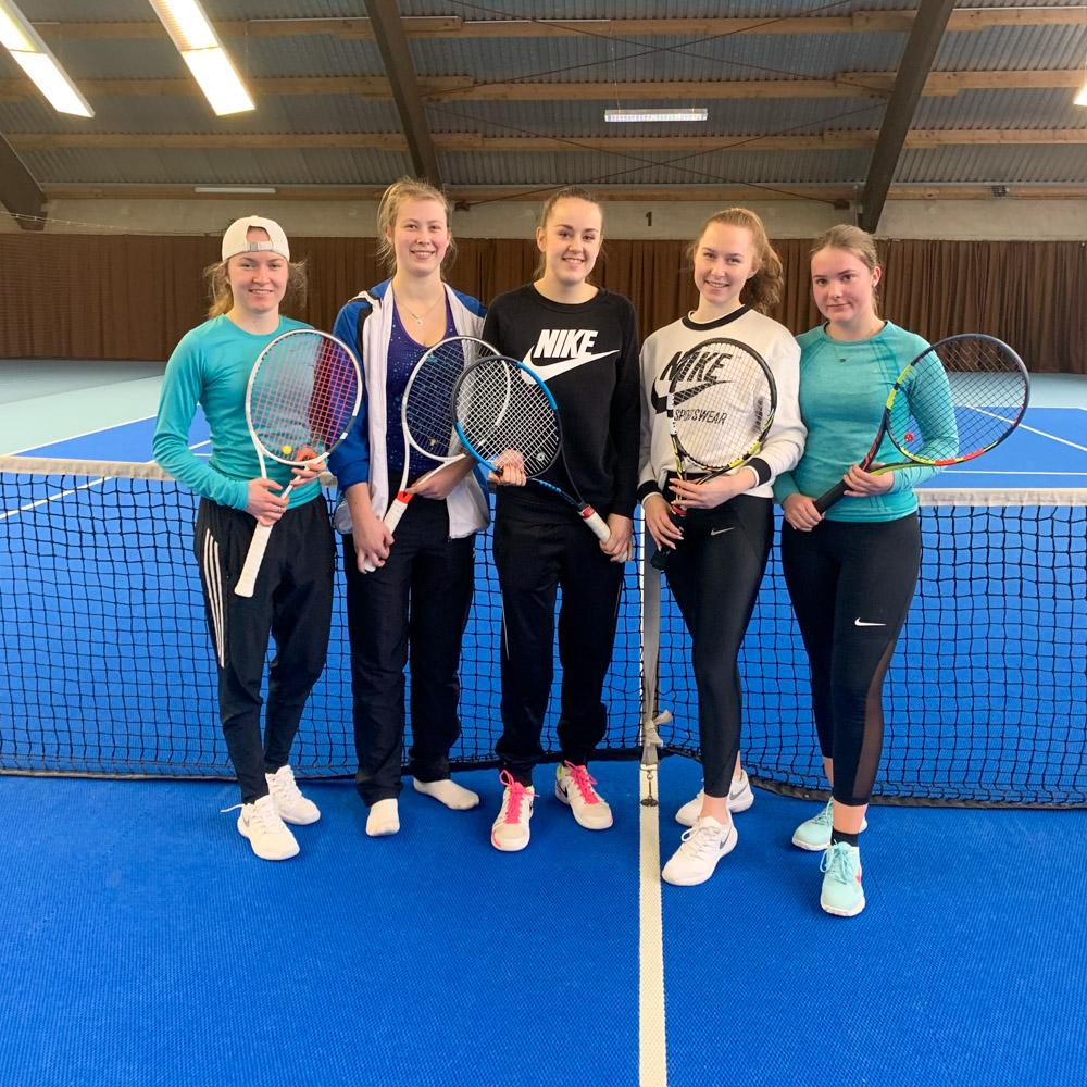 Ciara Stubhan, Lea Baschanow, Katharina Rucinski, Catjana Stubhan und Celina Kleefeld