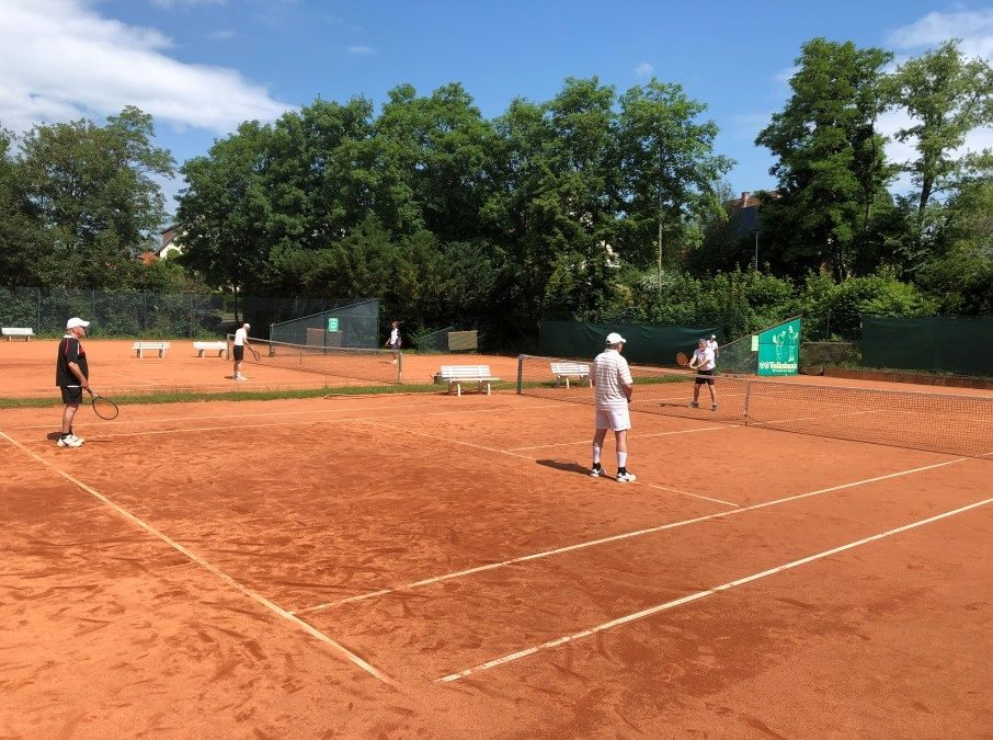 Trotz Corona ist Tennis-Sport beim TC Seesen möglich