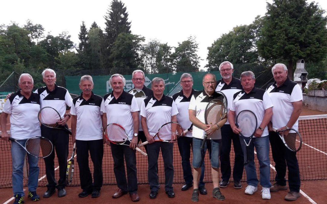 Über 10 Jahre prägt Gerhard Wagner die Senioren 65 des TC Seesen