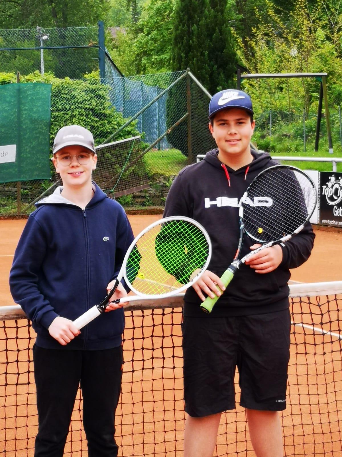 Kilian Wagner und Leandro Schulz